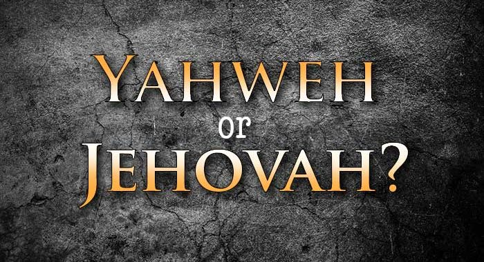 Jehovah or Yahweh? - Todd Tomasella | SafeGuardYourSoul