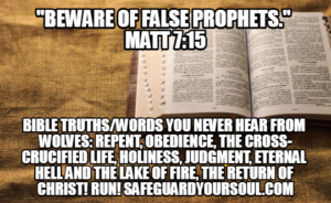 Many False Prophets Shall Arise [podcast] - Todd Tomasella